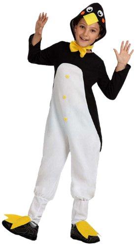 Atosa-16078 Disfraz Pingüino, color negro, 3 a 4 años (16078)
