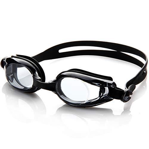 QQSS Gafas de Natación, Gafas de Natación Antivaho, Gafas de Buceo para Hombre Y Mujer, Gafas de Natación para Adultos, Protección UV, Correa Ajustable