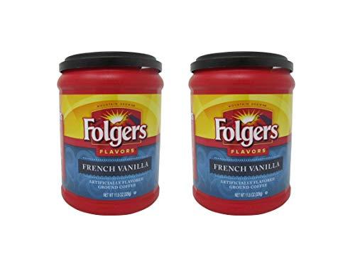 Folgers French Vanilla Coffee - 11.5 oz - 2 pk