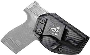 CYA Supply Co Base Inside Waistband Holster  Carbon Fiber  Concealed Carry IWB Veteran Owned Company Fits Smith & Wesson M&P Shield M2.0 & M1.0