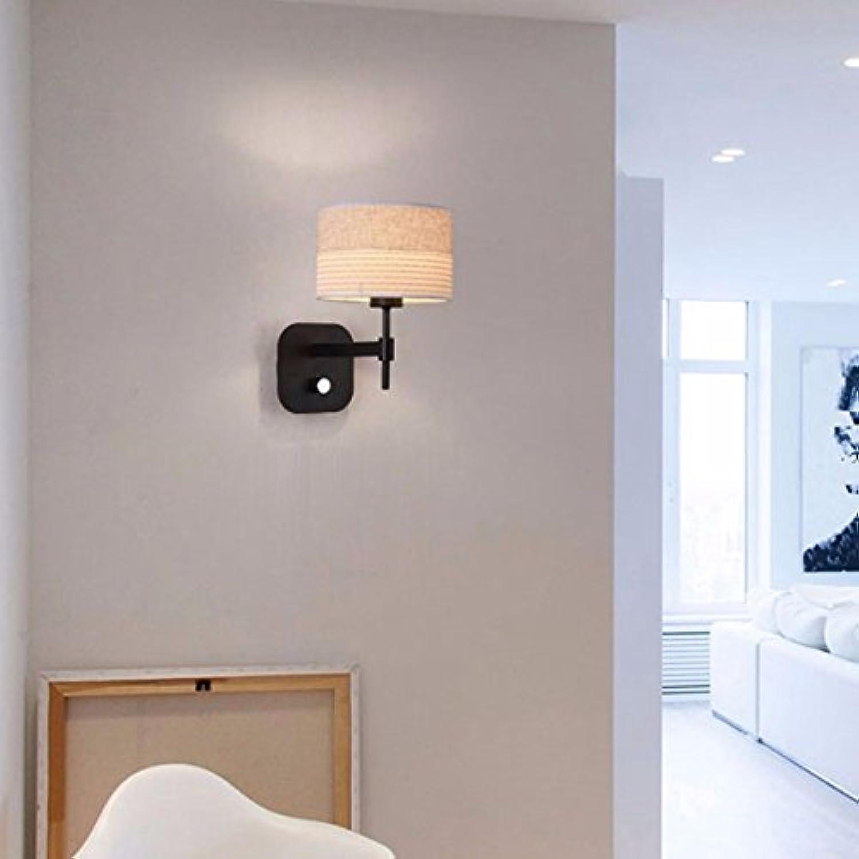 StiefelU LED Wandleuchte nach oben und unten Wandleuchten Stoffen Wandleuchte Schlafzimmer Wohnzimmer über den Kopf der Strae Hotel Hotel Zimmer Wnde, B