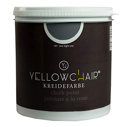 Kreidefarbe yellowchair No.181 dunkelgrau ÖKO für Wände und Möbel 1 Liter