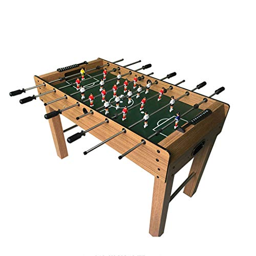 YGO Foldable Foosball Table Soccer Foosball Table Indoor Recreational Hand Soccer Competition Sized Soccer Arcade Game Room with Balls for Adults and Kids (Color : C)