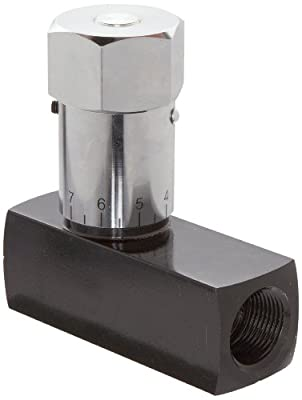 """Prince WFC-1200 Wolverine Flow Control Valve, Carbon Steel, In-Line, 25 gpm Max Flow, 3/4"""" NPTF from Prince Manufacturing"""