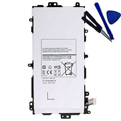 Powerforlaptop Tablet Battery + Repair Tools for Samsung Galaxy Note 8.0 GT-N5110 GT-N5100 N5110 SP3770E1H 16GB 32GB SGH-i467 Gh43-03786a AA1D306oS-T/B 3.75V 4600mAh