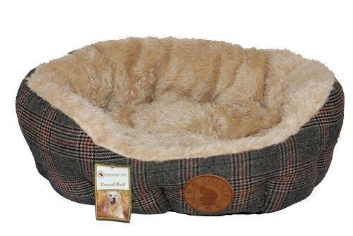 Country Pet - Luxe Tweed hondenbed (verschillende maten) - gemaakt van het fijnste Tweed - XL