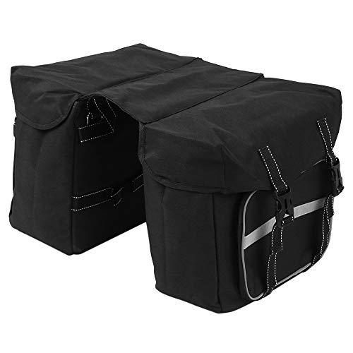 Walmeck- Bike Back Pannier Fahrrad-Rücksitz-Tasche Fahrradträger Einkaufstasche Rennrad Aufbewahrungstasche