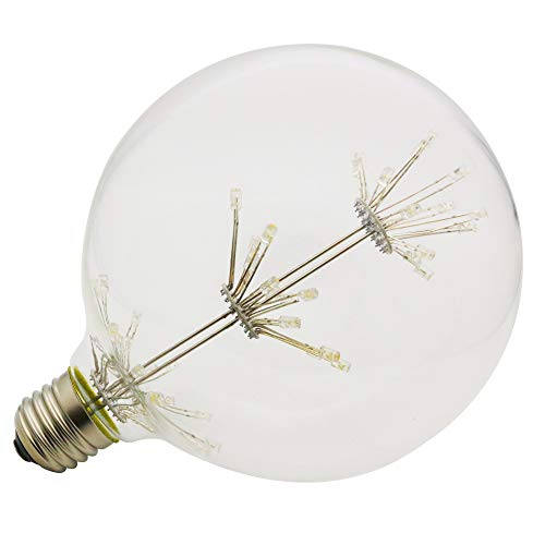 1 xLED G125 Gypsophila E27 3W Edison Lampe Vintage Retro Stil Glühbirne 2200K LED warmgelb Licht > Speziallampen > Dekorative Leuchtmittel