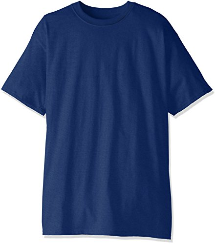 Hanes Men's Size Short-Sleeve Beefy T-Shirt (Pack of Two), Deep Royal, XX-Large/Tall