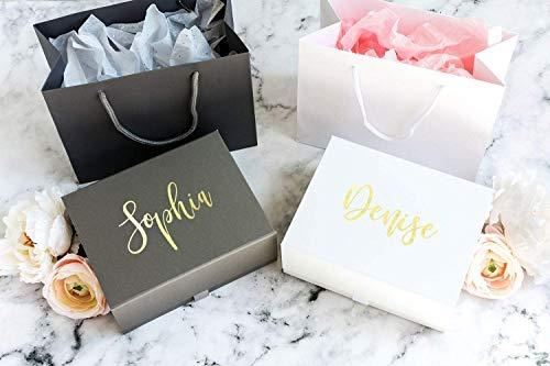 Personalisierte Geschenkbox mit Namen   Maßgefertigte Geschenkbox mit Deckel   Geburtstagsbox