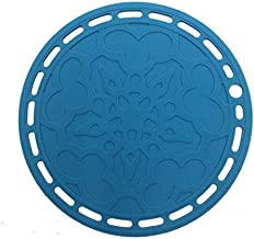 SOVINA Premium Silicone Hot Pads Trivet Blue, Insulation, Non stick heat resistant, Splatter Guard,Durable, Pot holder for...