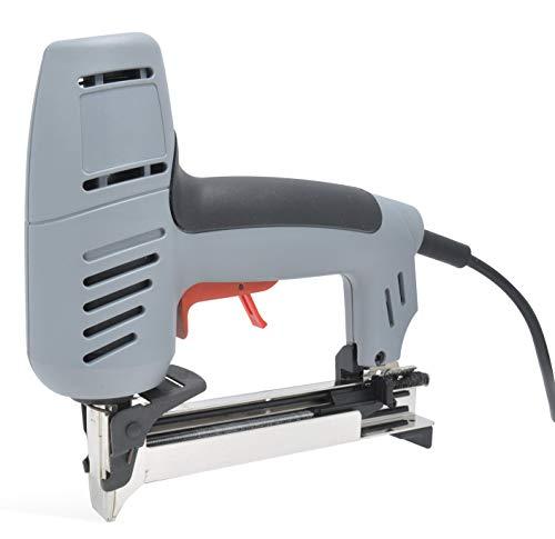 REGUR ET-11 - Grapadora eléctrica (para madera, tela, láminas, etc., incluye juego...