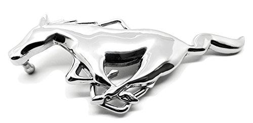 Ford Mustang Licence Officielle Boucle de Ceinture - Argenté Galop Poney Avec Finition Miroir