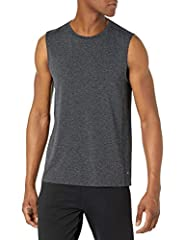 Amazon Essentials - Camiseta sin costuras ni mangas para correr para hombre