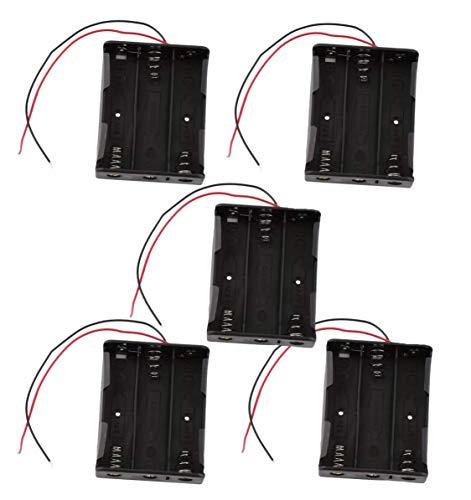 Movilideas portapilas 18650 (3 baterías 5 Unidades)