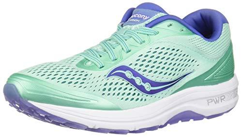 Saucony Clarion, Scarpe da Running Donna, Blu (Aqua Violet 035), 37 EU