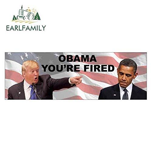 A/X 15 cm x 5,1 cm für Donald Trump Präsident Obama SIE SIND GEFEUERT Zeichen Feiner Aufkleber Lustige Autoaufkleber Stoßstangen-Kofferraum-Grafiken