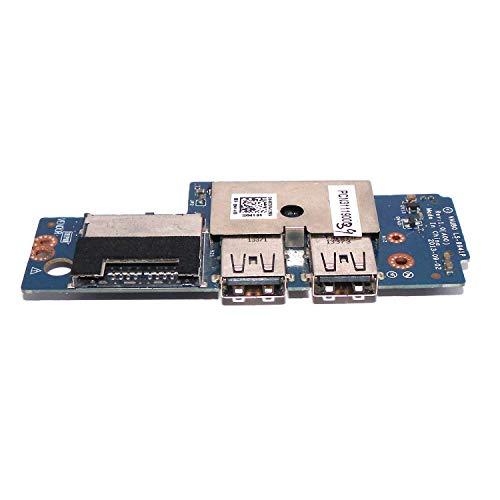 for Dell Precision M3800 XPS 15 9530 USB SD Card Reader IO Circuit Board CHA01 07DF4 (Renewed)