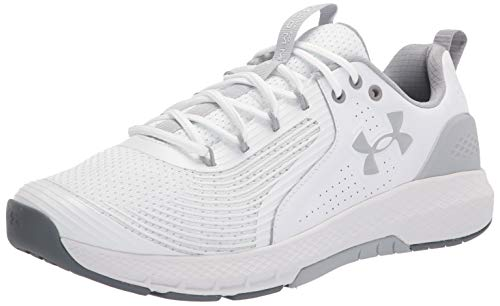 Under Armour mens Charged Commit 3 Cross Trainer, White (103...