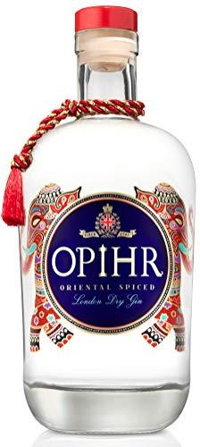 Opihr Oriental Spiced Gin, 42,5% vol., exotischer Gin mit Kräutern und Gewürzen aus dem Orient, von Englands ältestem Hersteller für Gin seit 1761, (1 x 0.7l)