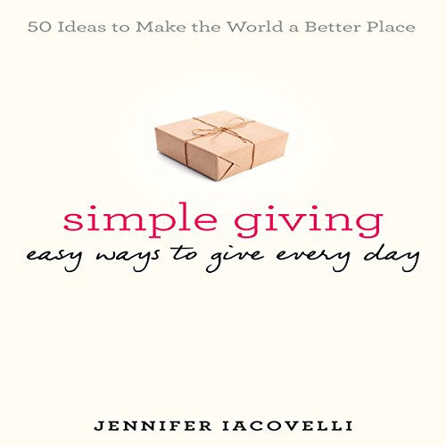 Simple Giving audiobook cover art