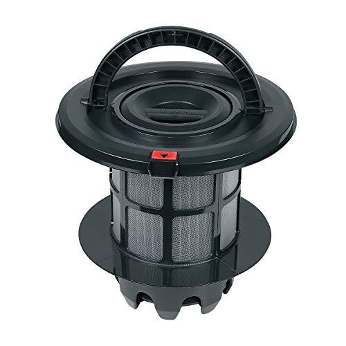 Filter Ersatz für Bosch 00708278 Ø205 mm Abluftfilterzylinder Waschbarer Lamellenfilter Ersatzteile für Beutellose Staubsauger