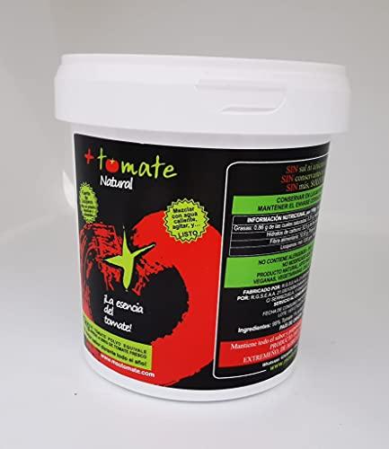 """Tomate Natural en Polvo Deshidratado - El NUEVO ingrediente - No se estropea, No necesita frio - """"Todo el sabor y propiedades del tomate fresco"""" - Producto de Extremadura [ 500 gr ]"""
