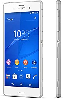 Sony Xperia Z3 (32GB, Android OS, 4G LTE + Wifi, White)