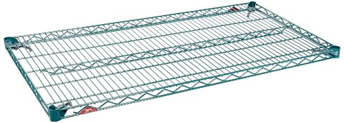 Metro A2460NK3 Super Adjustable Metroseal 3, Steel Wire Shelf with Microban, 600 lb. Capacity, 1' Height x 60' Width x 24' Depth (Pack of 2)