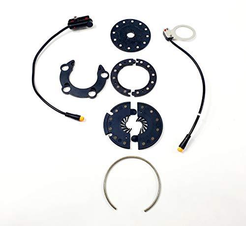 TZIPower PAS Tertsensor Hollowtech oder Vierkant ct. 250W 350W 500W 750W 1000W E-Bike E Bike Umbausatz. Tzipwer Kit Bafang 36V 48V (Variante 1)