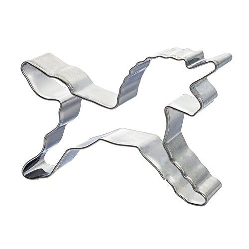 Smartfox Ausstecher Ausstechform Plätzchenform Einhorn Unicorn für Plätzchen Kekse Fondant