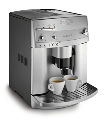 De'Longhi ESAM3300 Magnifica Super Automatic Espresso & Coffee Machine, Silver