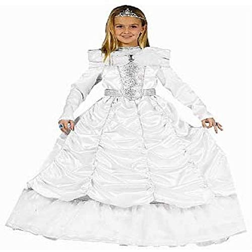 Dress Up America Luxueux Costume de mariée royale de petite fille
