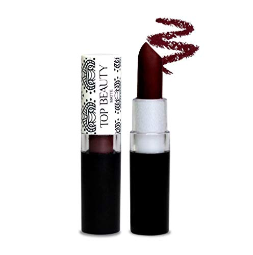 Batom Matte Dry Lip Top Beauty 3, 5Gr Cor 12, Top Beauty
