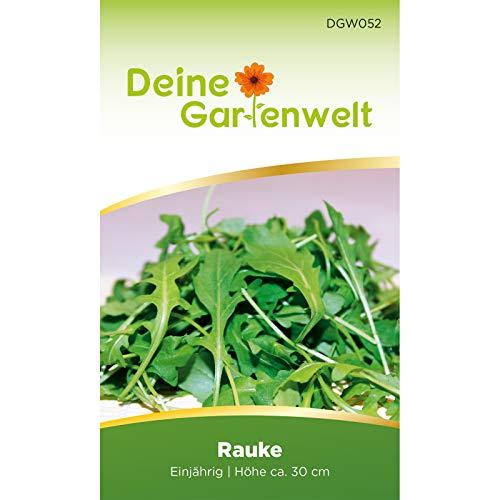 Rauke Samen | Blattsalat Rucola Saatgut | Raukesamen | Garten-Senfkraut | Eruca sativa