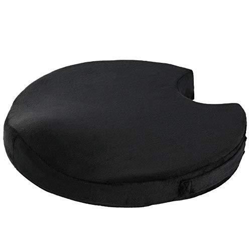 Cokeymove Health Cushion Memory Foam Stuhlkissen Sitzkissen für Bürostuhl - Tailbone Pain Relief Cushion - Steißbeinkissen - Ischias Kissen zum Sitzen Easy to use