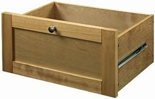 allen + roth Pecan Flat Panel Wood Drawer Kit