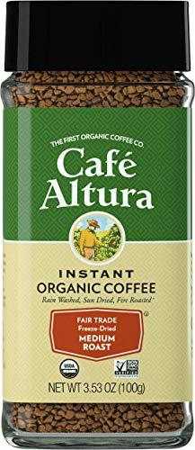 Cafe Altura Freeze Dried Instant Organic Coffee, Pack Of 2, Original, 76 Oz