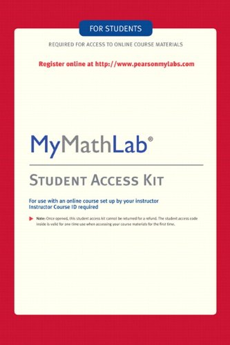 MyMathLab: Student Access Kit
