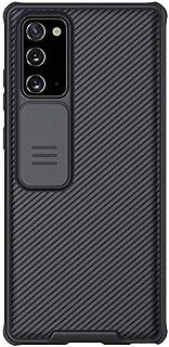 جراب خلفي سيلكون مقاوم للصدمات وحمايه للكاميرا من نيلكين لهاتف سامسونج نوت 20 (Samsung Note 20)- اسود