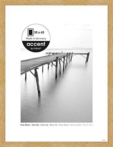 Nielsen Accent Holz Bilderrahmen Scandic, 30x40 cm, Eiche