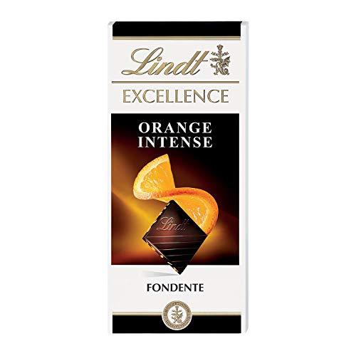 Lindt Excellence Tavoletta di Cioccolato, Orange, 100g