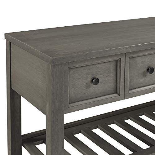 WE-Furniture-AZU48HNKWH-Solid-Wood-2-Drawer-Buffet-Sideboard-with-Wine-Storage