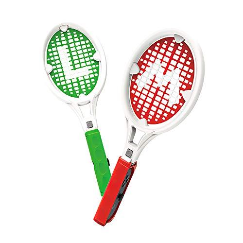 Not application 2 uds.Raqueta de Tenis empuñadura de Raqueta de Tenis para Interruptor Joy-con Controlador Mango Tenis Aces Accesorio de Juego para Interruptor