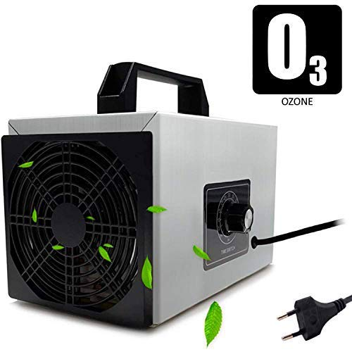 O3 Premium/Generador de ozono Industrial 28,000mg / HR 220v, Limpiador de ozono, Dispositivo de ozono para Habitaciones, Humo, Coches y Mascotas.Tecnologia Honey-Comb-Tec© … (28.000mg)