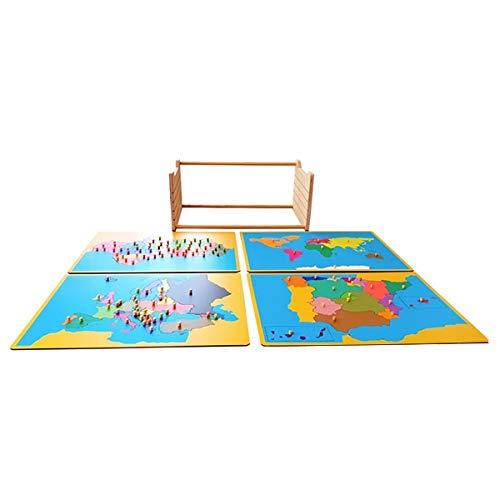 International Montessori Institute - Mapas Puzzle