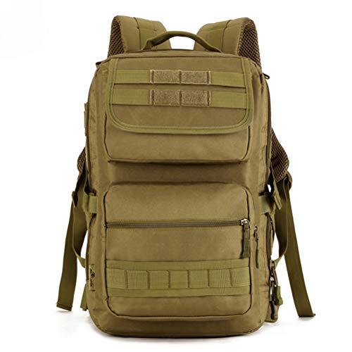 OYHN Sac à Dos Tactique en Nylon Matériel 25L Sac de Sport Camouflage Sac de Trekking Militaire Sac de Randonnée en Plein Air Camouflage, A