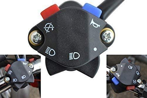 Alchemy Parts y Accesorios Motocross Enduro Moto Luz Amplificador Kill Interruptor para 22mm 7/8' Manillares
