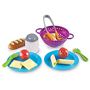 learning resources new sprouts pasta time, pretend play, play food, 20 piece set, ages 2+ - 41Ycuhn65nL - Learning Resources New Sprouts Pasta Time, Pretend Play, Play Food, 20 Piece Set, Ages 2+