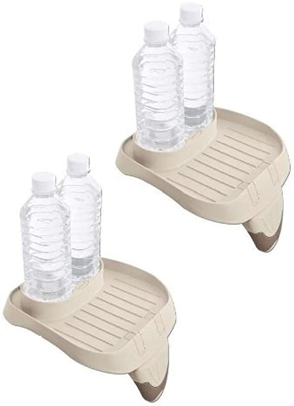 Intex B01K8AWN8I PureSpa Cup Holder And Refreshment Tray 2 Pack Multi